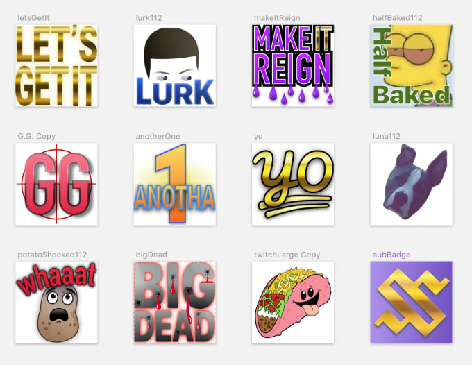 make twitch emotes for your channel
