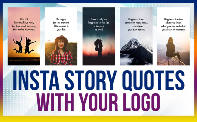design 50 inspirational instagram story quote images