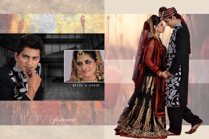 Create Wedding Album Sheets By Designerpandit