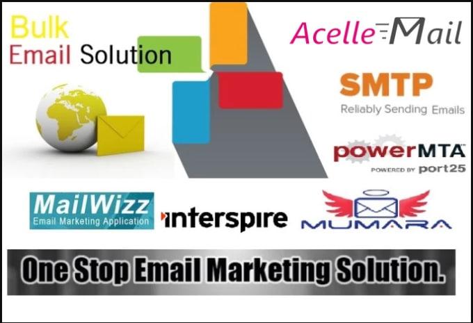 provide SMTP server for bulk email marketing