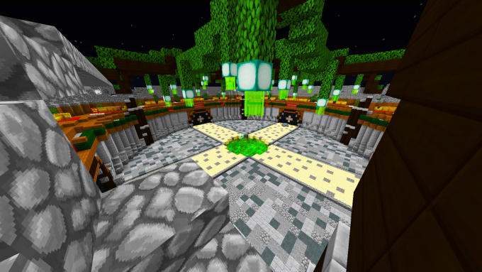 make this duel map for any minecraft server new desing