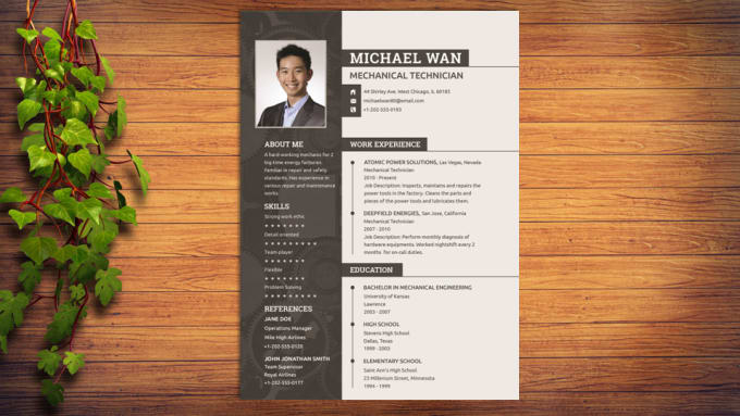 write and design eye catching resume cv and cover letter by uttamfutery