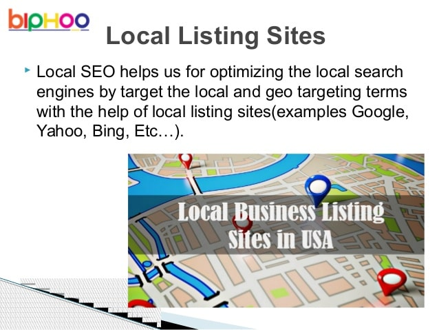 create 110 local listing,google maps and backlink