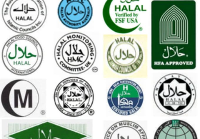 Send you a list of halal and/or kosher certified agencies and their ...