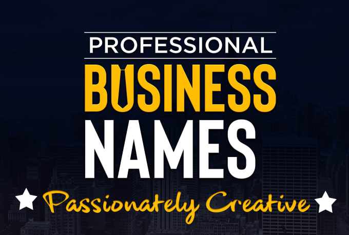 create the best business name, brand name, or slogans
