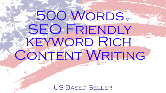 write 500 words of SEO friendly keyword rich content