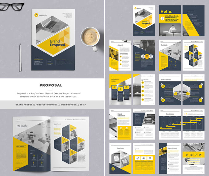 Design Business Proposal Simply And Editable By Bisiayo1