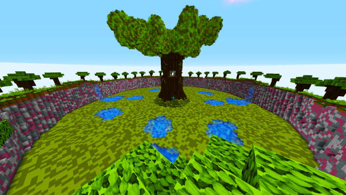 ra9_builder : I will build a ffa map for minecraft servers for $10 on
