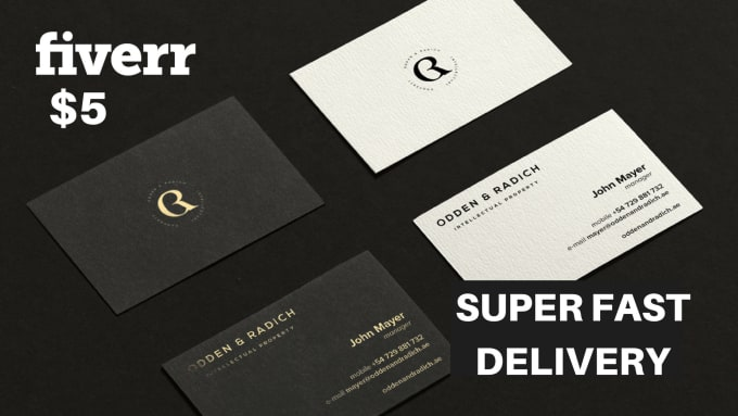 Design An Amazing Business Card With Free Mockups By Nadavram