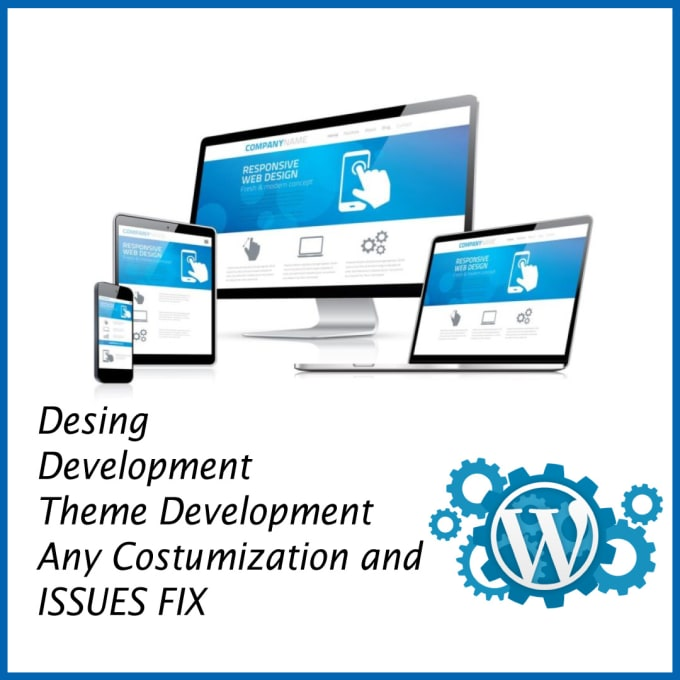 Design and development of wordpress web site by H2varus