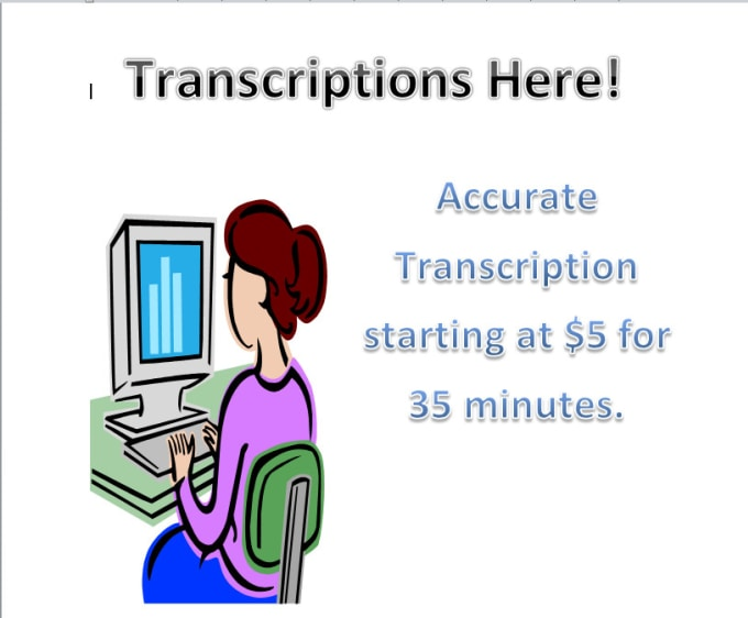 transcribe audio and video within 24 hours or less