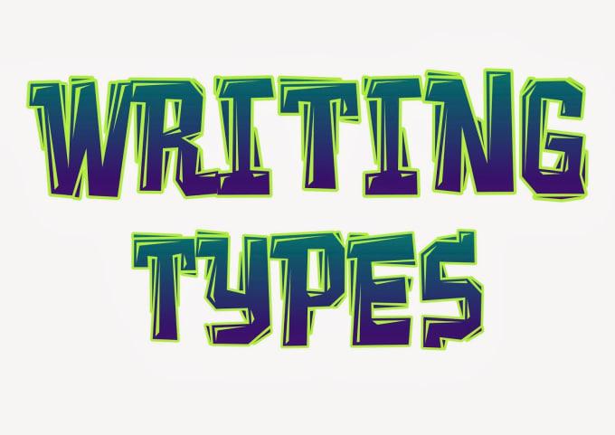 creative writing subjects