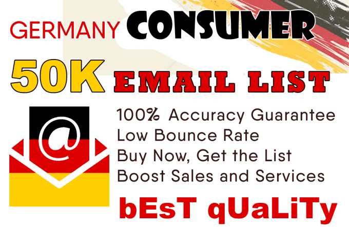 find 50k germany consumers email list
