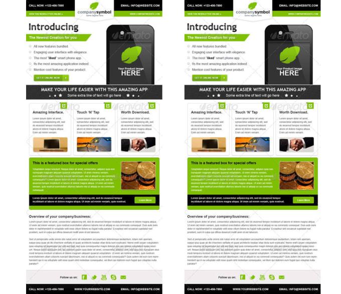Design Responsive Html Email Newsletter Template
