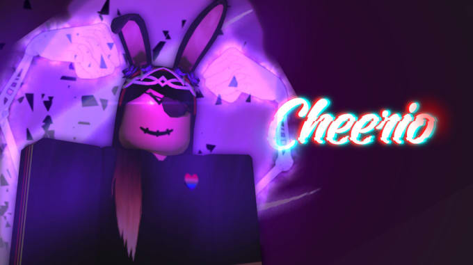 This is a GFX for my friend Fairy, she has a YouTube ...   Roblox Gfx Violet Girl