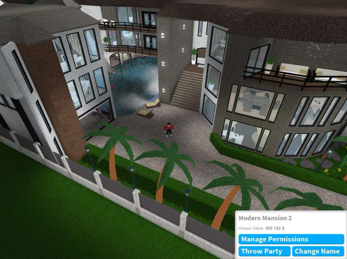 Build a house apartment small town or anything in bloxburg ...