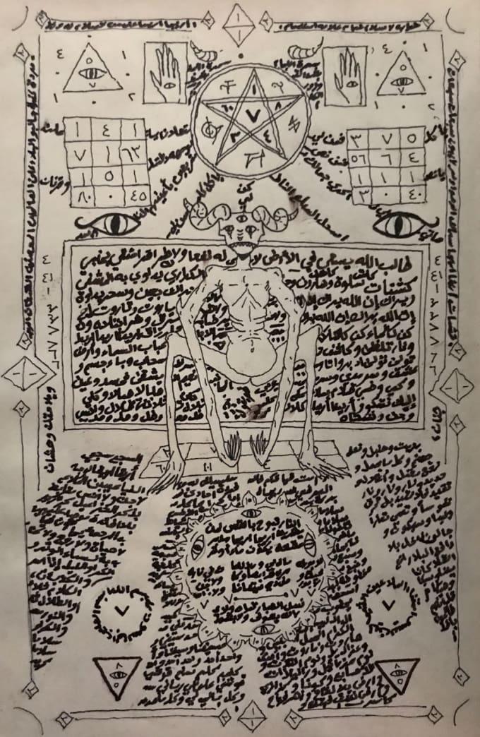 make an ancient arabic dark magic spell by sweeket