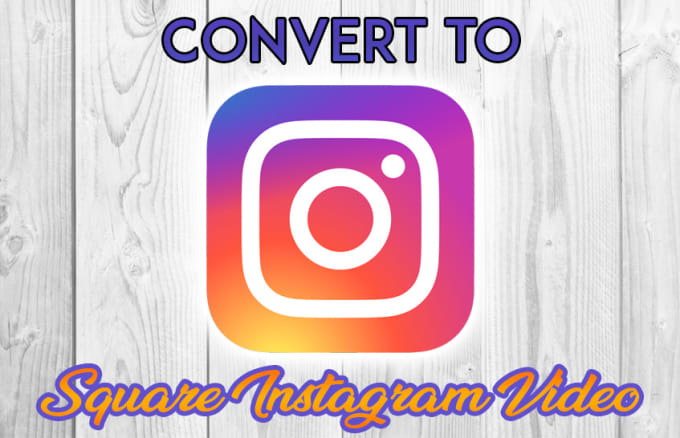optimize your video to square size for your instagram video