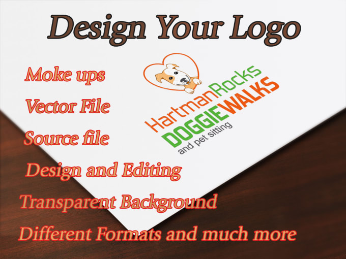 edit your logo, pdf, brochure within 24 hours