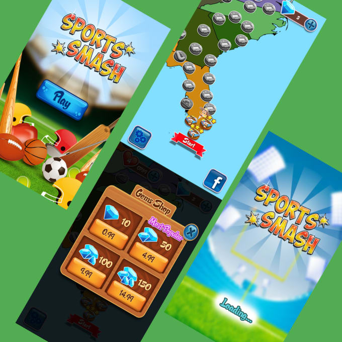 make a match 3 candy crush game, android and ios