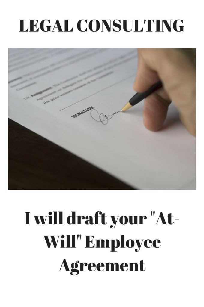 Draft Your Employee At Will Employment Agreement By Ladylibertylana