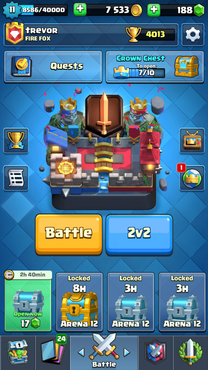 make videos of clash royale decks for you