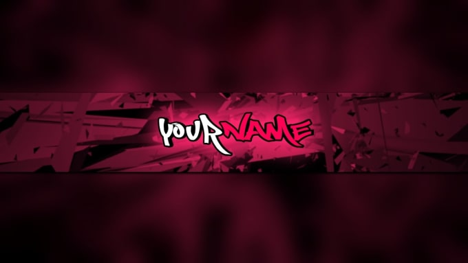 Design the perfect gaming or tech youtube channel banner by Simplyachampion