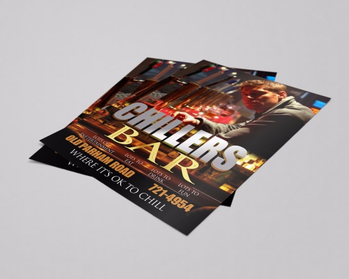 design and edit flyers poster brochure and menu by jonah campos