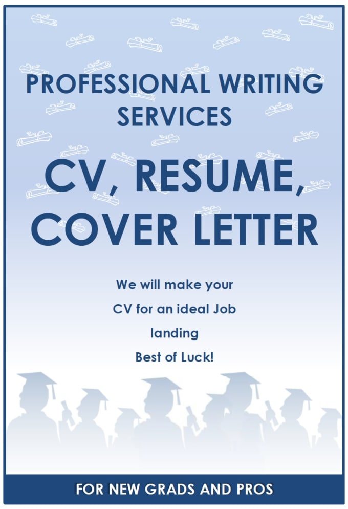 write a professional looking cv resume for good job by muhammadwaseem0