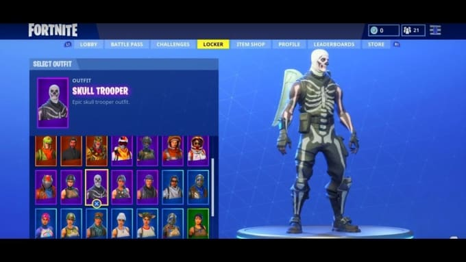 Solarvx I Will Skull Trooper And Ghoul Trooper Fortnite Account For 105 On Wwwfiverrcom