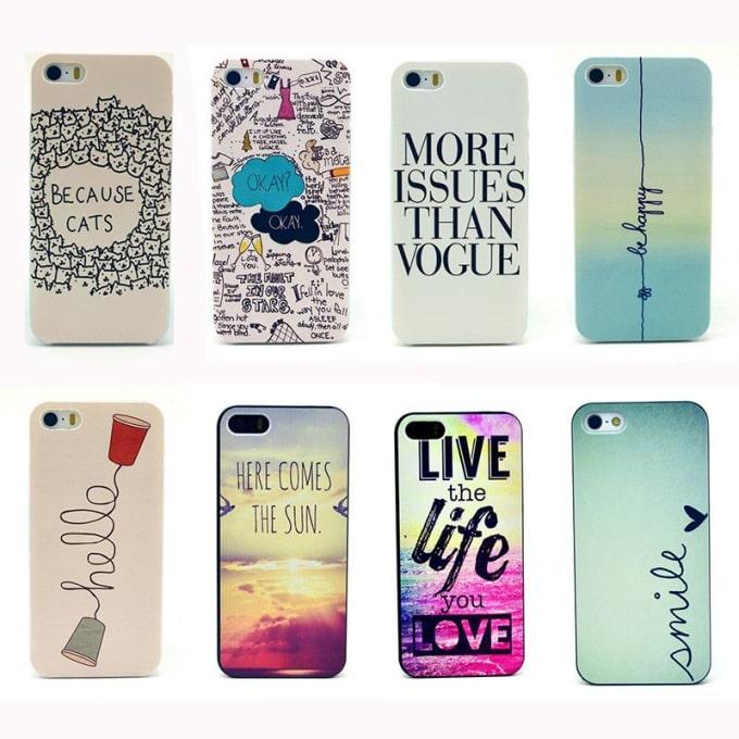 Design custom phone cases for you or teespring by Thegreatahnaf