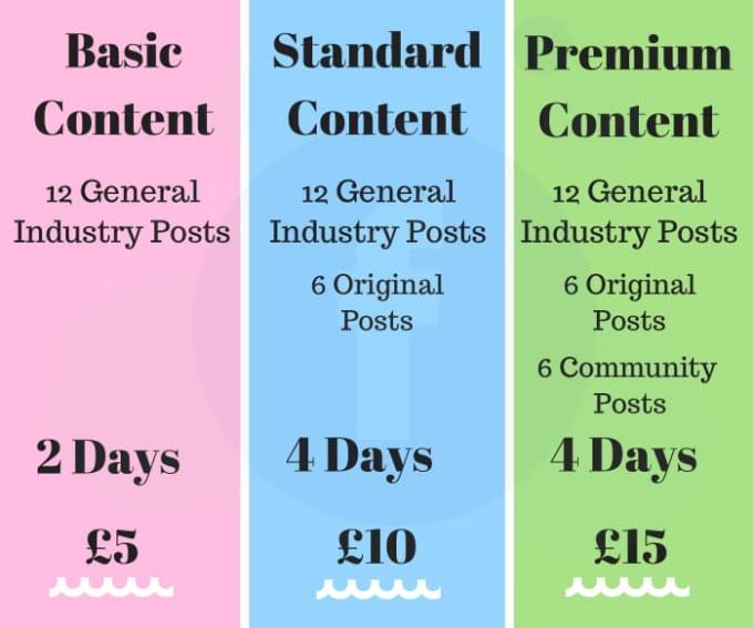 schedule 6 weeks of facebook posts