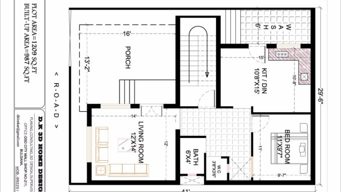 Create architectural and civil engineering 2d drawings in - Autocad home design software free download ...