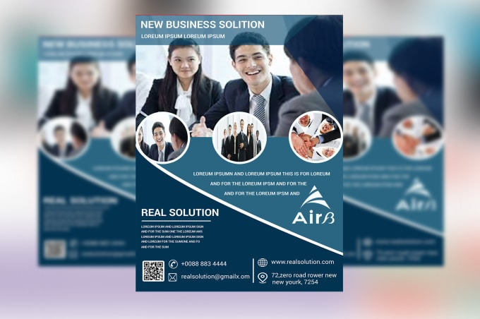 design professional business flyer brochure leaflet by nayanna529