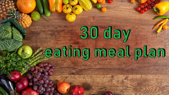 give you a 30 day eating meal plan to lose weight fast