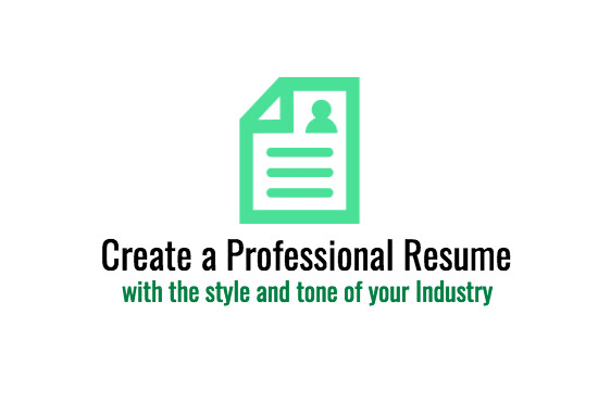 Create A Professional And Industry Focused Resume Cover Letter