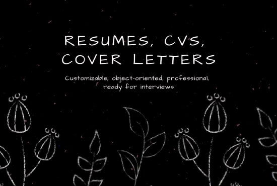 Compose Objective Resumes Cvs Cover Letters Etc