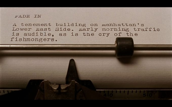 write a script for your short film, movie script or play