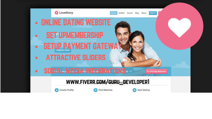 setting up online dating website