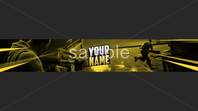 i will make you a logo and header for youtube and twitter - fortnite twitter logo