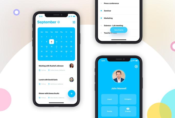 Do Mobile App Ui Design For Ios