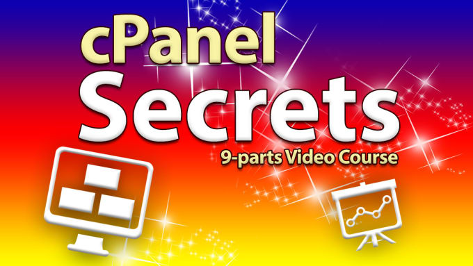 eagleofthestar : I will give you a video course that teach you how to use  cpanel for $10 on www fiverr com