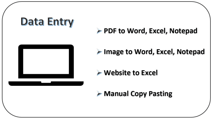 provide high quality data entry services
