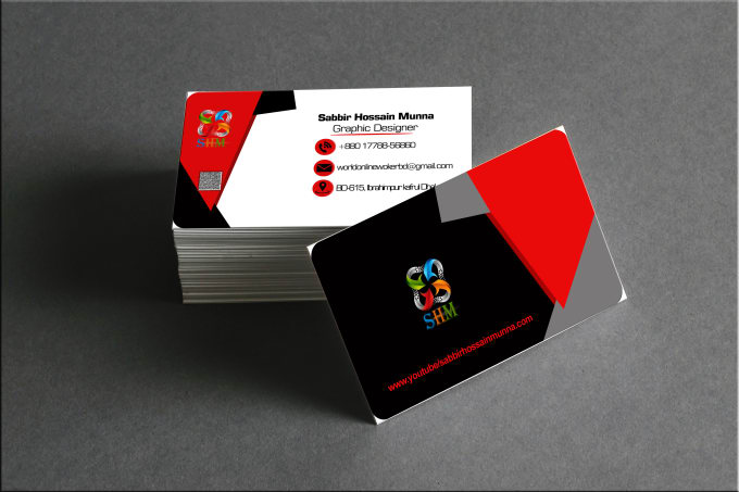 Do professional business card making by ahnaffardin do professional business card making colourmoves