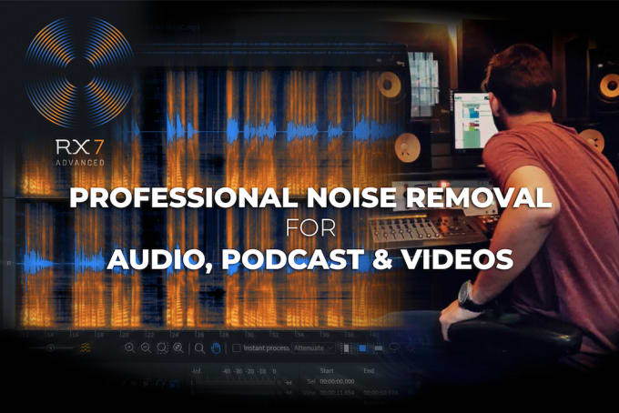 professionally clean up your audio files, remove noise and enhance