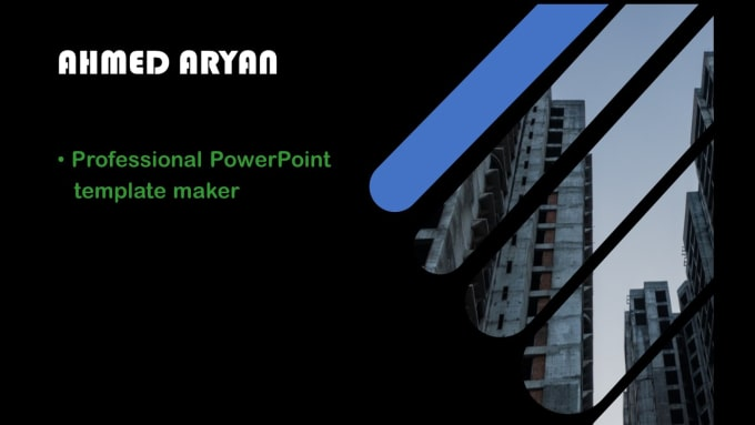 Ahmedaryan I Will Make Animated Powerpoint Template For Business For 5 On Wwwfiverrcom