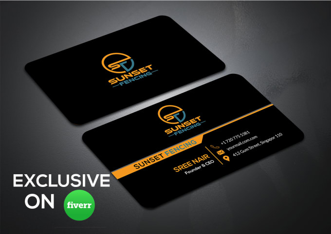 Design Unique Minimalist Business Cards In 24 Hours By Shohag2580
