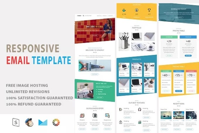Make Responsive Email Template By Devbari