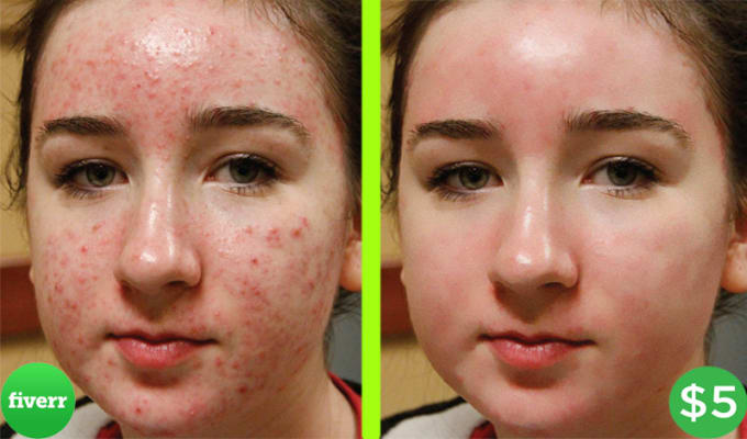 clean your face in photoshop