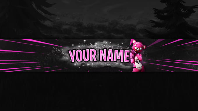 Create A Fortnite Banner For Your Youtube Channel By Partyfreak